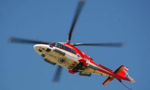 Αεροδιακομιδή 40χρονου από τον Πολύγυρο στη Θεσσαλονίκη