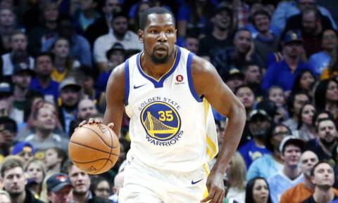 NBA: Έμεινε… πολεμιστής ο Ντουράντ