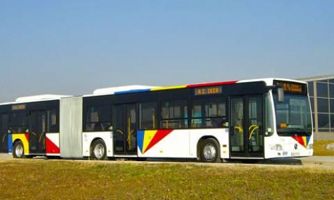 Σύγκρουση λεωφορείων στη Θεσσαλονίκη
