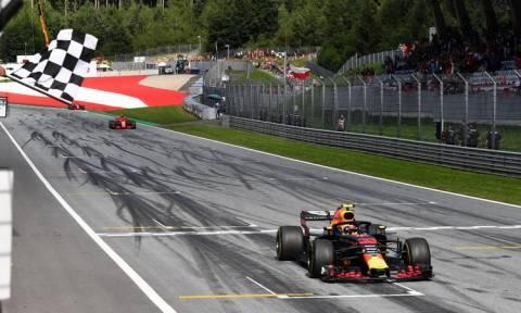 Formula 1: «Εντός έδρας» νίκη για τον Φερστάπεν στο θρίλερ της Αυστρίας