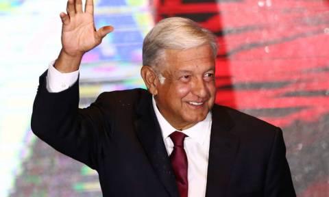 Ο Άντρες Μανουέλ Λόπες Ομπραδόρ είναι ο νέος πρόεδρος του Μεξικού
