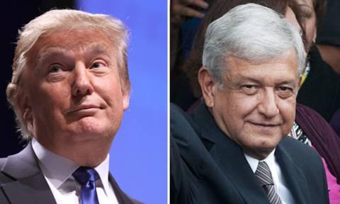 ΗΠΑ – Μεξικό: Τα «βρήκαν» Τραμπ και Ομπραδόρ από το πρώτο κιόλας τηλεφώνημα