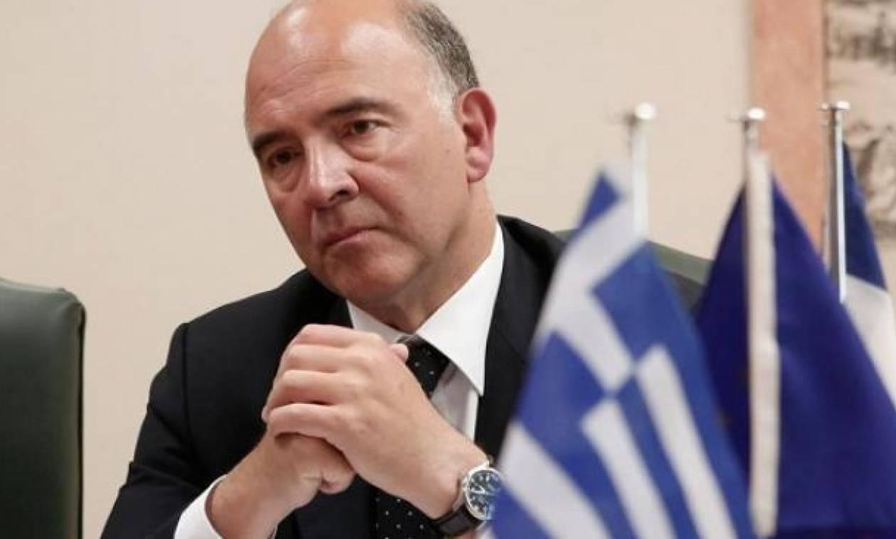 Στη Αθήνα ο Πιερ Μοσκοβισί - Το πρόγραμμα και οι συναντήσεις του