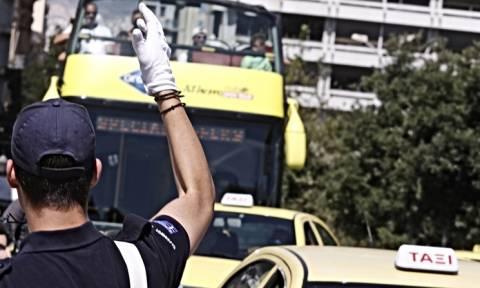 Προσοχή! Κυκλοφοριακές ρυθμίσεις αύριο Τετάρτη στο κέντρο της Αθήνας