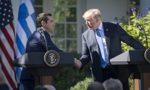 Επιστολή Τραμπ στον Τσίπρα: «Ισχυρός σύμμαχος των ΗΠΑ η Ελλάδα»
