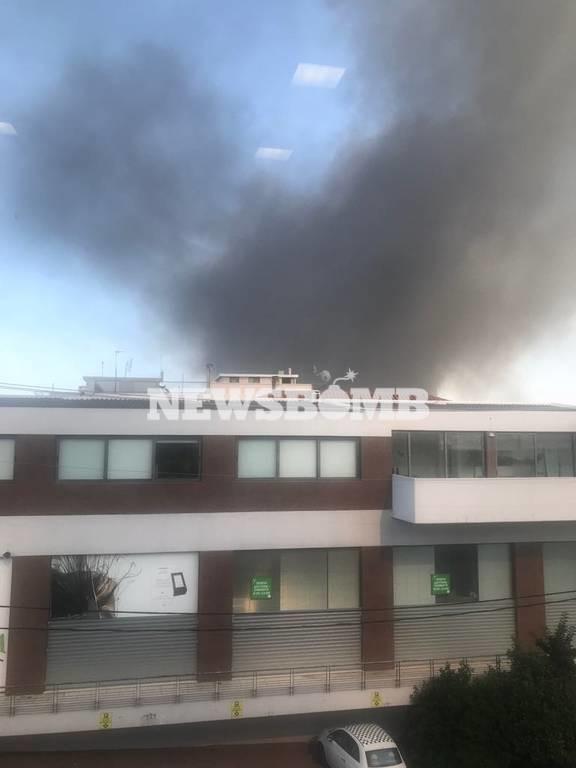 ΕΚΤΑΚΤΟ: Φωτιά ΤΩΡΑ στο Γέρακα - Συναγερμός στην Πυροσβεστική