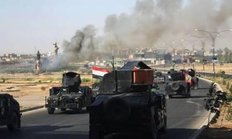 Ιράκ: Σφοδρή επίθεση του στρατού κατά του Ισλαμικού Κράτους στα κεντρικά της χώρας