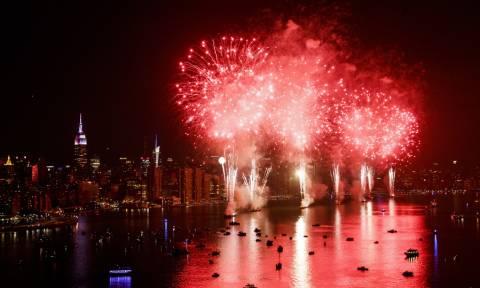 Έτσι γιόρτασε η Νέα Υόρκη την αμερικανική Ημέρα Ανεξαρτησίας (pics)