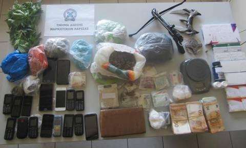 Λάρισα: Εξαρθρώθηκε εγκληματική οργάνωση που διακινούσε κοκαΐνη και κάνναβη