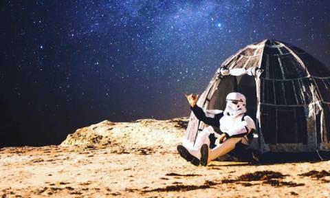 Star Wars: Αυτή είναι η σκηνή που κάνει «πάταγο» στις παραλίες (Pics+Vid)