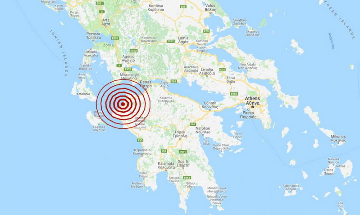 Seismos Konta Sthn Kyllhnh Ais8htos Se Arketes Perioxes Pics