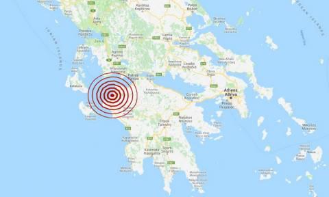 Σεισμός κοντά στην Κυλλήνη - Αισθητός σε αρκετές περιοχές (pics)