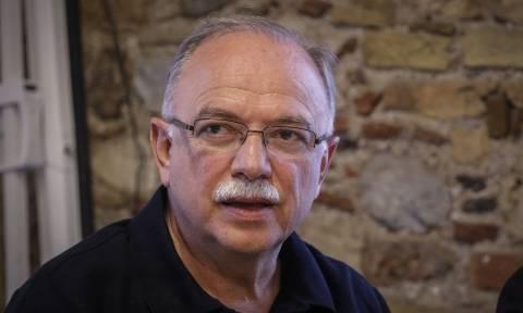 Παπαδημούλης: Απαράδεκτη η αξίωση της Τουρκίας για τους Έλληνες στρατιωτικούς