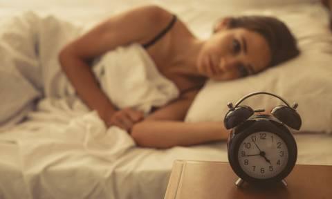 Αϋπνία: Για ποια διατροφική έλλειψη προειδοποιεί