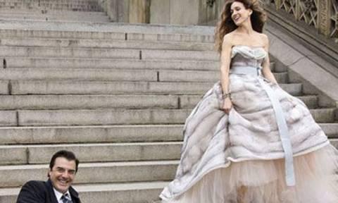 Οι ακυκλοφόρητες φωτογραφίες της Carrie Bradshaw και του Mr. Big από το SATC που δεν είχαμε ξαναδεί