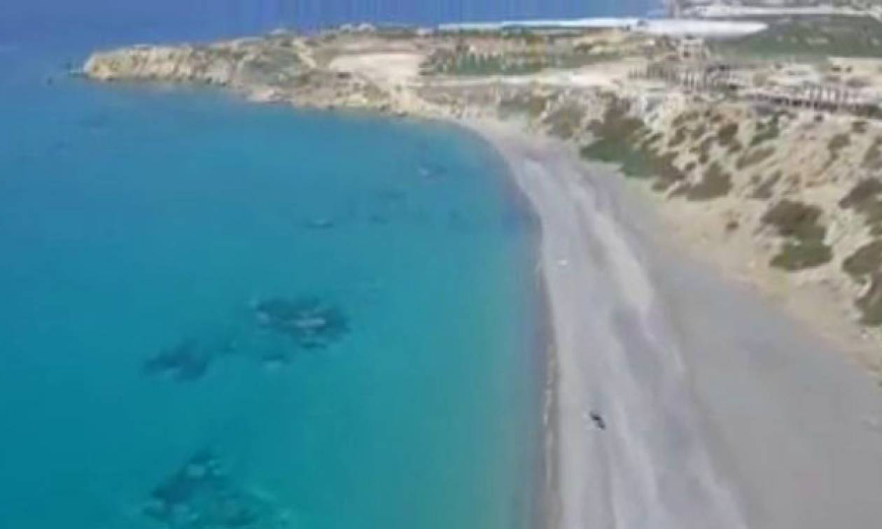 Τρεις από τις ωραιότερες παραλίες της Νότιας Κρήτης σε ένα σούπερ drone βίντεο!