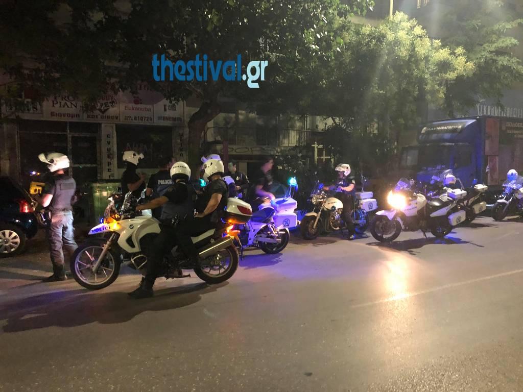 Θεσσαλονίκη: Κινηματογραφική καταδίωξη από δικυκλιστές της ομάδας Ζ – Δύο συλλήψεις (pics)
