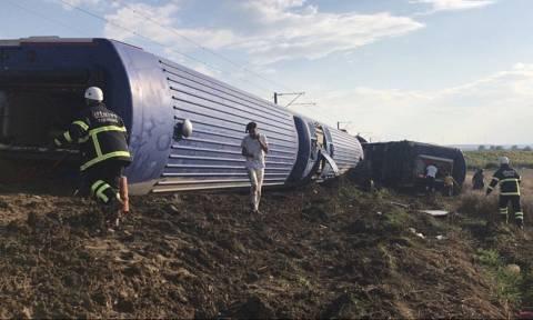 Εκτροχιασμός τρένου στην Τουρκία: Η ξαφνική κακοκαιρία προκάλεσε το πολύνεκρο δυστύχημα