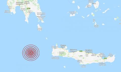 Σεισμός 4,1 Ρίχτερ δυτικά της Κρήτης: Έτσι κατέγραψαν οι σεισμογράφοι τη σεισμική δόνηση (pics)