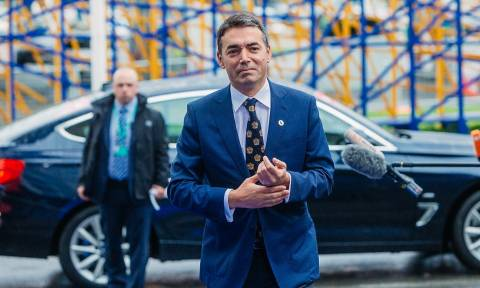 Ντιμιτρόφ: Περιμένουμε το «πράσινο φως» από το ΝΑΤΟ