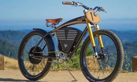 Mοτοποδήλατο πιο μάχιμο κι από μοτοσικλέτα!
