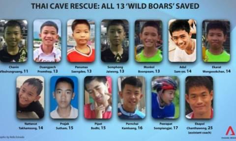 Ταϊλάνδη: Αυτοί είναι οι 12 μικροί Aγριόχοιροι που συγκλόνισαν τον κόσμο – Γιατί μπήκαν στο σπήλαιο;