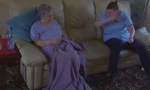 Έβαλε κρυφή κάμερα στο σπίτι της! Αυτό που είδε προκάλεσε την παρέμβαση της Αστυνομίας (video)