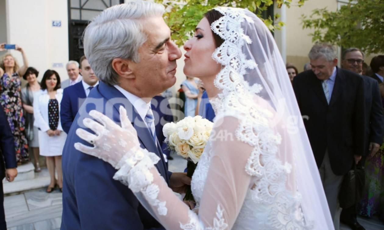 Κεδίκογλου-Κατσαμάκη: Το φωτογραφικό άλμπουμ του γάμου τους