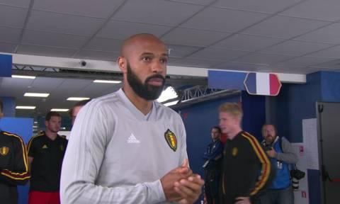 Παγκόσμιο Κύπελλο Ποδοσφαίρου 2018: Οι στιγμές του Ανρί στον ημιτελικό (video)