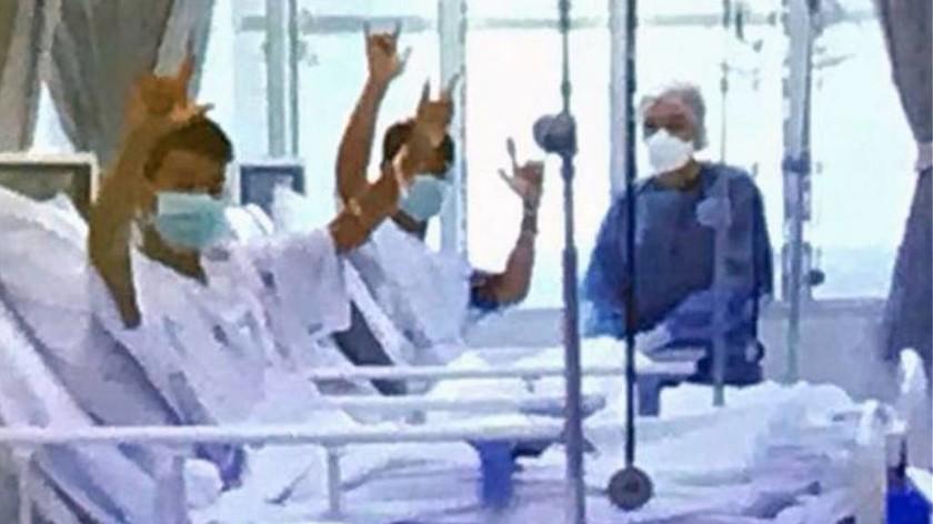 Ταϊλάνδη: Οι πρώτες εικόνες από τα 12 παιδιά στο νοσοκομείο