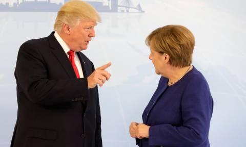 ΝΑΤΟ: Τραμπ και Μέρκελ διαβεβαιώνουν ότι έχουν «θαυμάσια σχέση» παρά την «άγρια» κόντρα