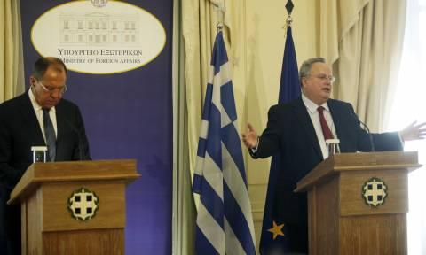 Στον «αέρα» η επίσκεψη Λαβρόφ στην Αθήνα