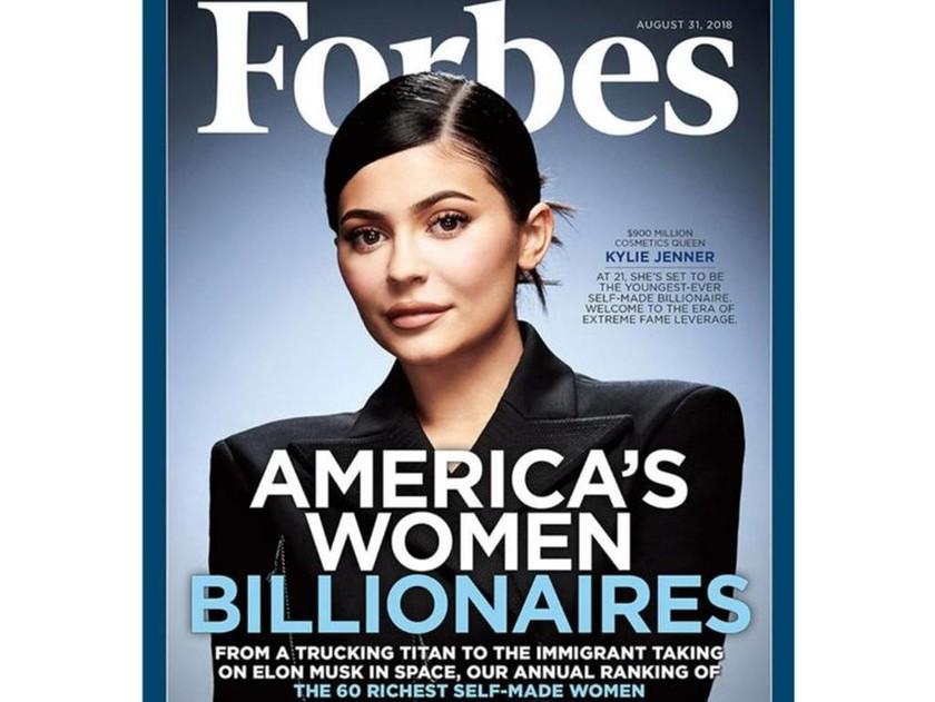 Η Κάιλι Τζένερ στο Forbes και μόλις… 100 εκατ. πριν γίνει δισεκατομμυριούχος! (pic)