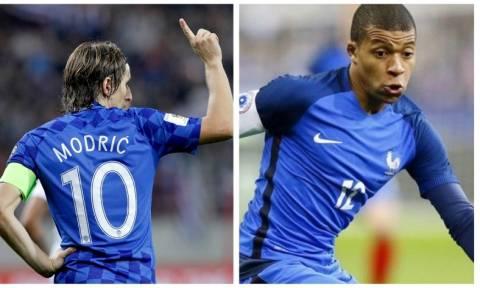 Γαλλία – Κροατία: Μεγάλος τελικός με μεγάλα στοιχήματα στο Stoiximan.gr