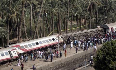 Αίγυπτος: Τουλάχιστον 58 τραυματίες από εκτροχιασμό τρένου (pics)