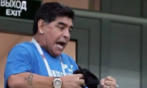 Μουντιάλ 2018: «Έξαλλος» ο Μαραντόνα για την κριτική στον Μέσι