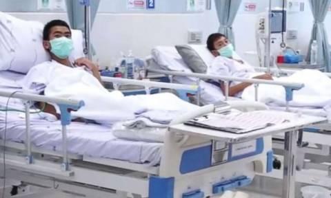 Ταϊλάνδη: Την Πέμπτη βγαίνουν από το νοσοκομείο τα 12 παιδιά