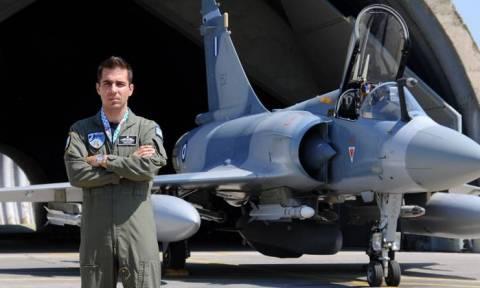 Πτώση Mirage 2000: Αντιπτέραρχος ο ήρωας - πιλότος Γιώργος Μπαλταδώρος
