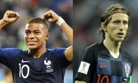 Τελικός Μουντιάλ 2018: Γαλλία – Κροατία για τον παγκόσμιο θρόνο