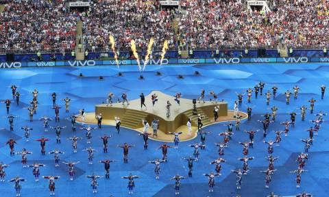 Μουντιάλ 2018: Φαντασμαγορική τελετή λήξης με Γουίλ Σμιθ και... Ροναλντίνιο! (pics+vid)