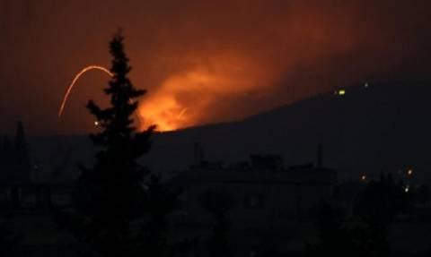 Ισραηλινοί πύραυλοι έπληξαν στρατιωτική θέση κοντά στο Χαλέπι