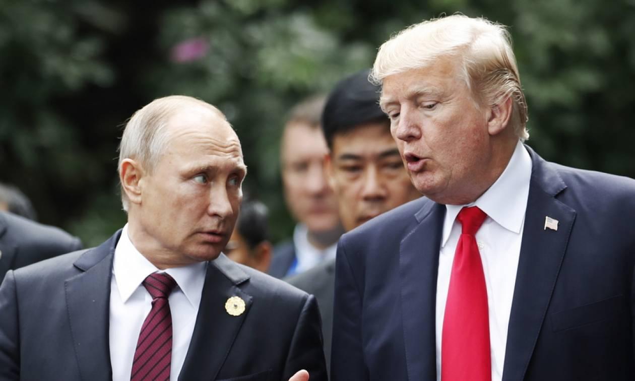 Λεπτές ισορροπίες ΗΠΑ - Ρωσίας: Κρίσιμη συνάντηση Τραμπ - Πούτιν στο Ελσίνκι
