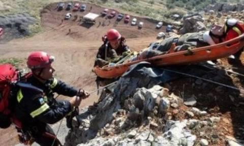 Εύβοια: Eπιχείρηση απεγκλωβισμού ορειβάτη