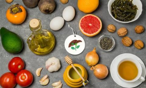 Οι 6 καλύτερες τροφές για το συκώτι (video)