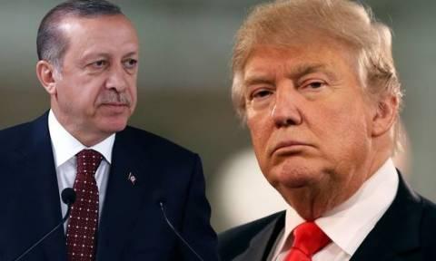 Τηλεφωνική επικοινωνία Τραμπ - Ερντογάν για τη Συρία