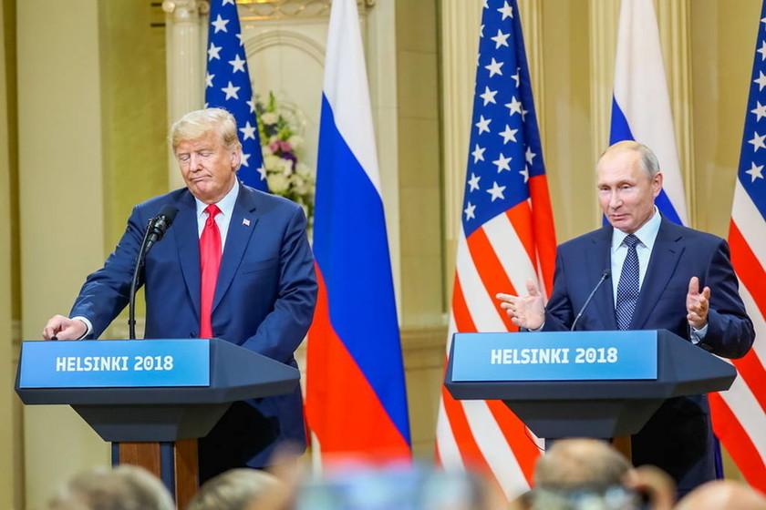 Τραμπ – Πούτιν: Δείτε LIVE την κοινή συνέντευξη τύπου (Vid)