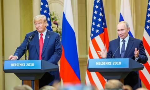 Τραμπ – Πούτιν: Ο Ψυχρός Πόλεμος τελείωσε, μπορούμε να κάνουμε σπουδαία πράγματα μαζί (Vid+Pics)