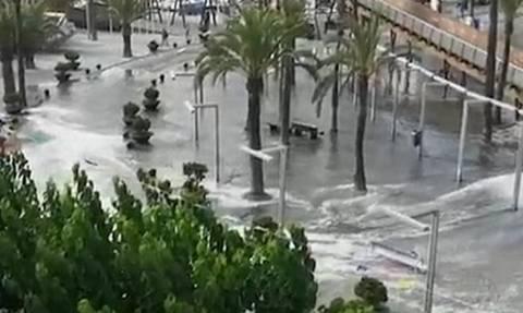 Τσουνάμι 1,5 μέτρων χτύπησε τη Μαγιόρκα (vid)
