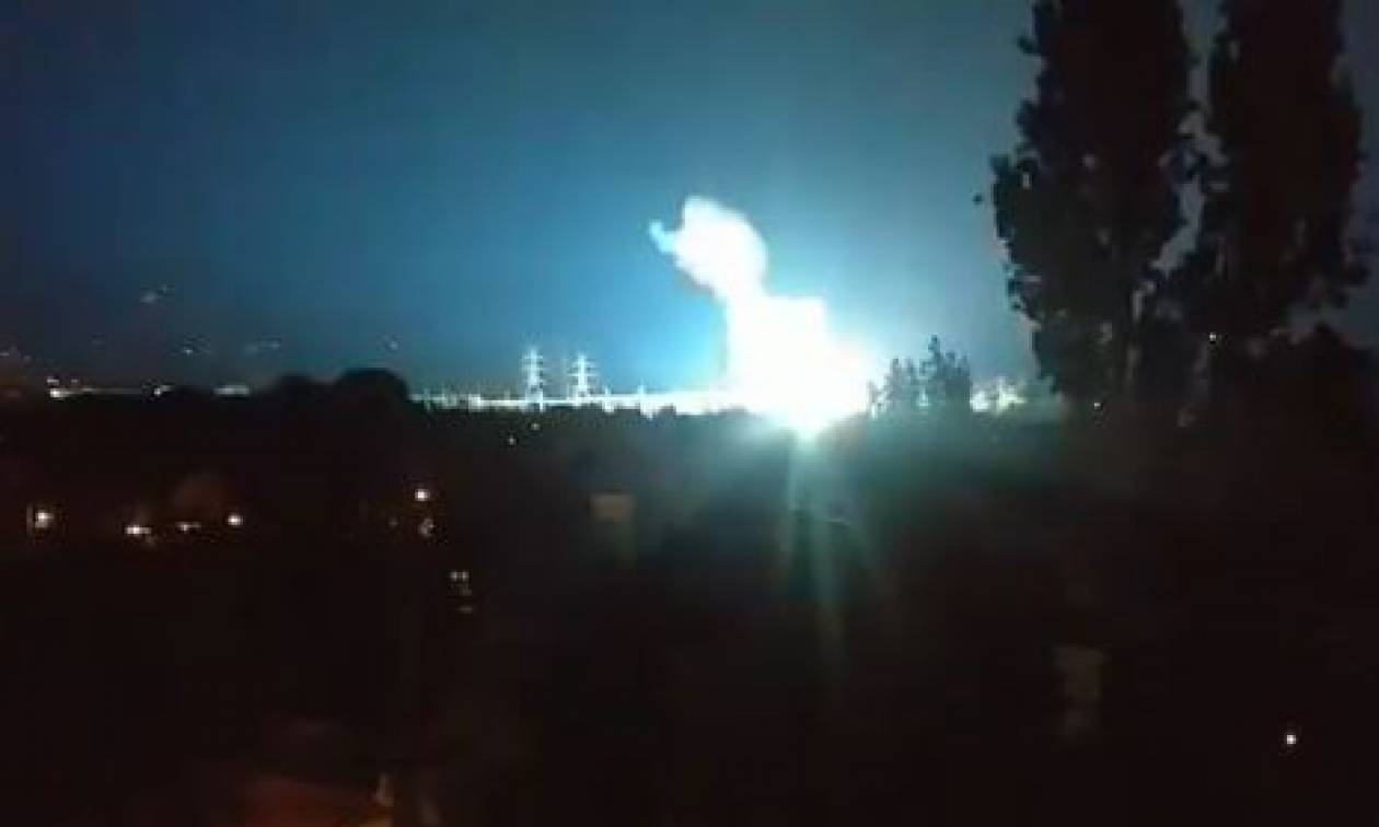 Βίντεο - ΣΟΚ από τις εκρήξεις στο Κέντρο Υψηλής Τάσης στο Κρυονέρι – Τι απαντά ο ΑΔΜΗΕ (vid)