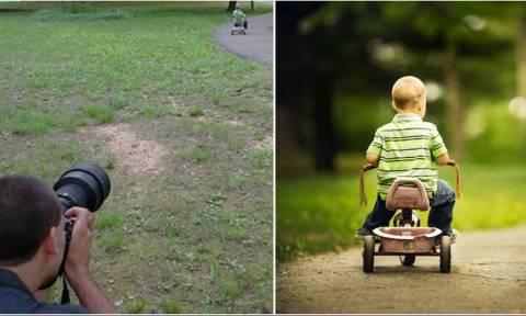 Θα πάθετε ΠΛΑΚΑ όταν δείτε τι κρύβεται πίσω από κάθε καλή φωτογραφία! (pics)